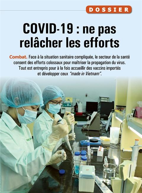 COVID-19 : ne pas relâcher les efforts