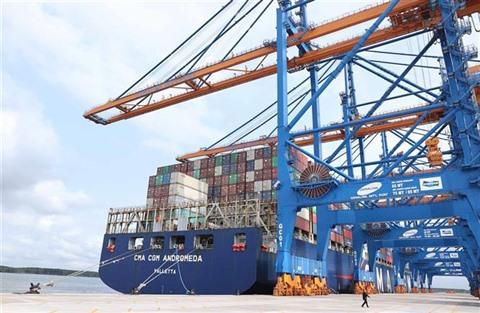 port, Cai Mép, Thi Vai, centre logistique, Nguyên Xuân Phuc