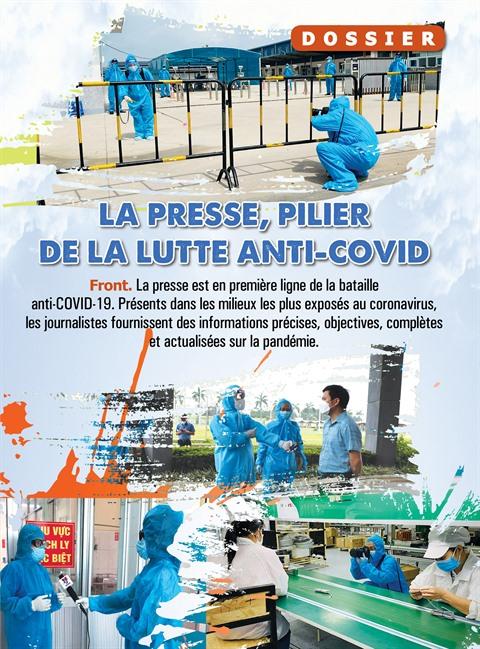 La presse, pilier de la lutte anti-COVID