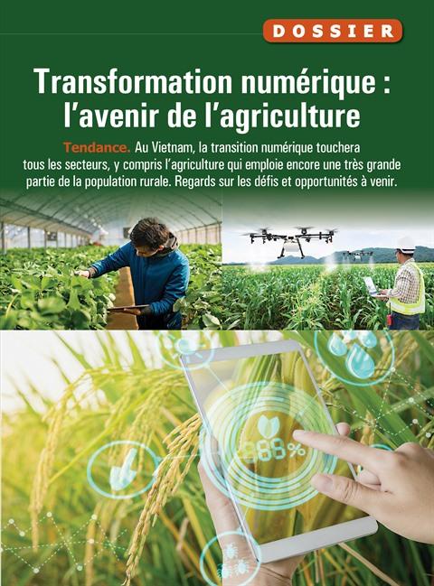 Les agriculteurs au cœur de la transition numérique