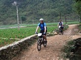 Un tour de vélo chargé d'aventures à Cao Bang