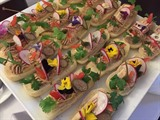 Festin gastronomique et cuisine responsable