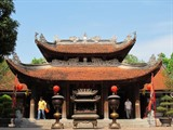 Cérémonie pour l'anniversaire du roi Ly Thanh Tông au Temple Dô