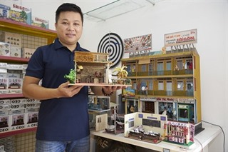 Revivre les jeux de miniatures à Hô Chi Minh-Ville