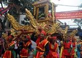 Thai Binh : le festival du temple Dông Bang reconnu comme patrimoine national