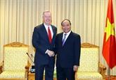 Le Premier ministre Nguyên Xuân Phuc reçoit l'ambassadeur américain