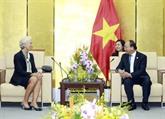 Nguyên Xuân Phuc reçoit le directeur exécutif du FMI