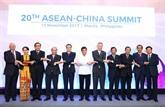 La Chine propose une vision de partenariat stratégique avec lASEAN