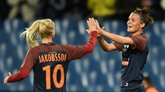 Ligue des champions : Lyon et Montpellier facilement en quarts