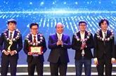 Remise du Prix Talent du Vietnam 2017