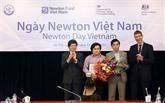 Remise des prix Newton Vietnam