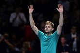 Tennis : David Goffin élimine Roger Federer en demi-finale