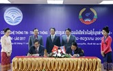 Vietnam - Laos : promotion de la coopération dans les technologies de linformation