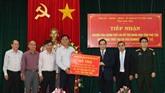 Phu Yên : aides lao aux sinistrés du typhon Damrey