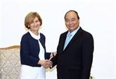 Le Premier ministre reçoit le secrétaire dÉtat portugais des Affaires étrangères