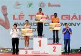 Plus de 5.000 coureurs au marathon international Techcombank de Hô Chi Minh-Ville