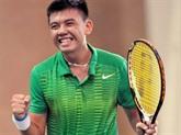 Tennis : le Vietnamien Ly Hoàng Nam renoue avec le top 500 mondial
