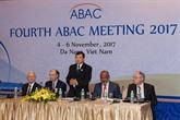 APEC 2017 : LABAC exhorte à poursuivre les réformes commerciales