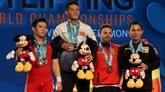 Championnats du monde dhaltérophilie : le grand chelem pour Thach Kim Tuân