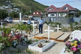 Johnny Hallyday repose à Saint-Barthélemy
