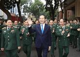 Le chef de l'État exhorte la Garde-frontière à faire valoir son rôle