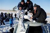 Retour sur Terre réussi pour trois cosmonautes de lISS