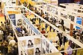 Des marchandises vietnamiennes présentées à la Foire des produits naturels et organiques de lASEAN