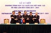 Le Vietnam et lOIT signent un pacte de coopération sur lemploi durable
