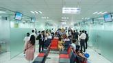 Nouveau Centre de vaccination à Hô Chi Minh-Ville