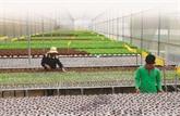 Lagriculture high-tech, clé de la restructuration économique