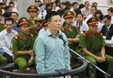 Jugement en première instance de Hà Van Tham et de ses complices