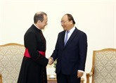 Le sous-secrétaire du Vatican, Antoine Camilleri, se rend au Vietnam