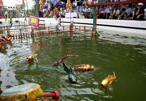 Circuit de découverte sur l'art des marionnettes sur l'eau