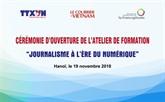 Un atelier de formation francophone