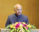 Le président indien Ram Nath Kovind termine sa visite d'État au Vietnam