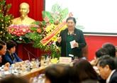 Tong Thi Phong travaille avec la Caisse de sécurité sociale du Vietnam