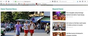Un portail dinformation sur le tourisme de Hanoï voit le jour