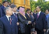 Le président vietnamien reçoit les chefs des délégations à l'ASOSAI 14