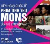 Le 3e Festival international du film d'amour de Mons au Vietnam