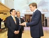 Le WEF et le Vietnam vont signer deux conventions de coopération