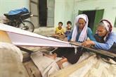 L'artisanat de tissage de brocatelle des Cham à Binh Thuân