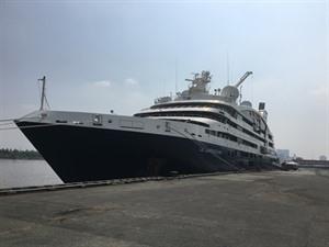 Le yacht français Le Lapérouse en escale à Hô Chi Minh-Ville