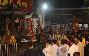 Nam Dinh: fête de louverture des sceaux du temple des rois Trân