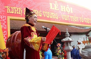 La Fête du temple de Kinh Duong Vuong ouverte à Bac Ninh