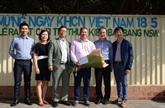 Soutien d'expatriés vietnamiens dans l'application des sciences dans leur pays