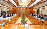 Nguyên Phu Trong applaudit les progrès dans la consolidation du PCV