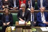 Brexit: May demande un report à des Européens