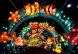 Première Fête des lumières à Hô Chi Minh-Ville