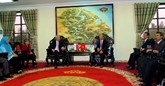 Le vice-PM singapourien Teo Chee Hean en visite à Thua Thiên-Huê