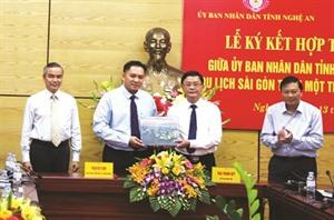 Saigontourist et Nghê An renforcent leur coopération